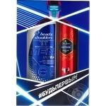 Gift set Head & Shoulders Shampoo Total Care 2in1 360ml, Old Spice Captain Deodorant Spray 150ml