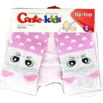 Колготки дитячі Conte Kids Tip-Top 17С-60СП розмір 80-86 14,448 світло-рожевий - купить, цены на Novus - фото 1