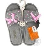 Обувь женская Marizel комнатная Poon-732 - купить, цены на Фуршет - фото 6