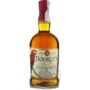 Doorly`s Gold Rum 5YO 40% 0,7l - buy, prices for Novus - image 1