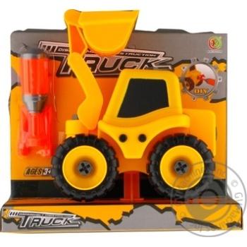 Набір трактор з екскаваторною установкою Kaile Toys розбірна модель з викруткою - купити, ціни на Novus - фото 1