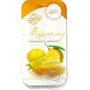 Мармелад цитрусовий з лимоном Солодка Мрія 370г - купить, цены на Novus - фото 1