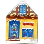 Пряники Wicklein Рождественский домик имбирный 200г