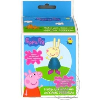 Набір для ліплення Кролик Ребекка Peppa Pig - купити, ціни на Novus - фото 1