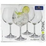 Glass Bohemia for cocktails 4pcs 820ml