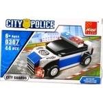 Peizhi Police Car Construction Toy 0308