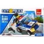 Конструктор Peizhi полицейское авто 0306