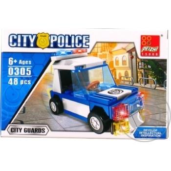 Конструктор поліцейське авто Peizhi 0305 - купити, ціни на Novus - фото 3