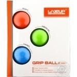 Набір LiveUP м'ячиків-еспандерів 4.5x6.5см 3шт