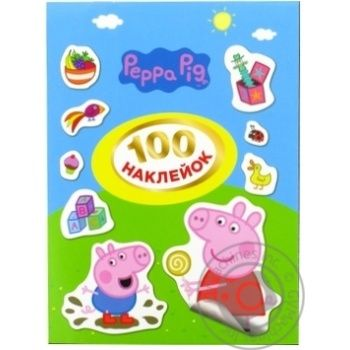 Pero Peppa Pig 120672 Stickers 100pcs - buy, prices for Auchan - image 1