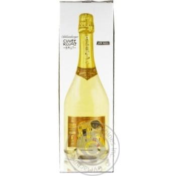 Вино игристое Schlumberger Cuvee Klimt Brut белое 11,5% 0,75л - купить, цены на Novus - фото 1