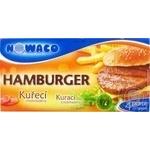 Гамбургер с курицей Nowaco замороженный 280г