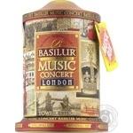 Basilur Music Concert London black tea 100g