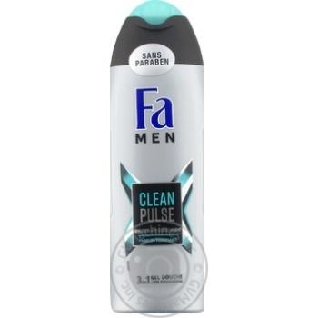 Гель для душа Fa Men Clean Pulse 3в1 250мл - купить, цены на Novus - фото 1