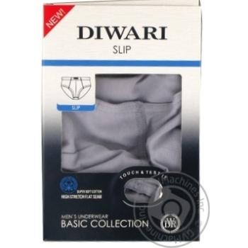 Труси чол. DiWaRi BASIC MSL 128 р.94 98/L Fumo - купить, цены на МегаМаркет - фото 1