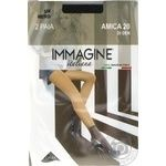 Шкарпетки жіночі Immagine Amica 20 den nero 2шт