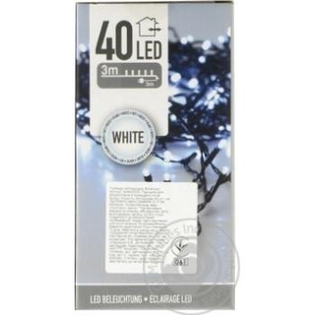 Гирлянда Koopman светодиодная 40 светодиодов 3м гирлянда + 3м кабель