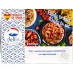 Seafood shrimp Delfin with chickpeas precooked 300g