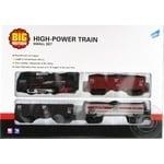 Набір ігровий Big Motors Залізниця з 3 вагонами