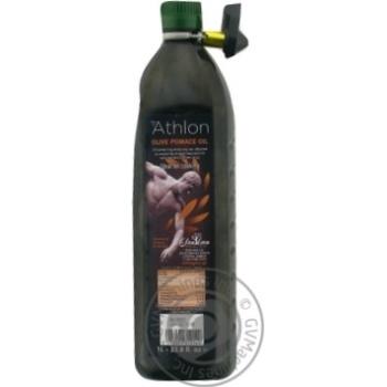 Масло оливковое Athlon Pomace рафинированное 1л