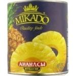 Fruit pineapple Mikado ring 3100ml can