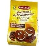 Печиво Balocco Faccine пісочне з шоколадом та лісовим горіхом 350г