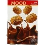 Печенье Biscolata Mood песочное с шоколадно-кремовой начинкой 40г х12