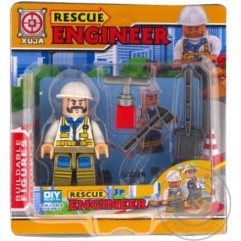 Набір іграшковий Space Baby Rescue Engineer фігурка-конструктор з аксесуарами в асортименті