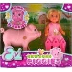 Кукольный набор Simba Evi Love Беременная свинка с поросятами