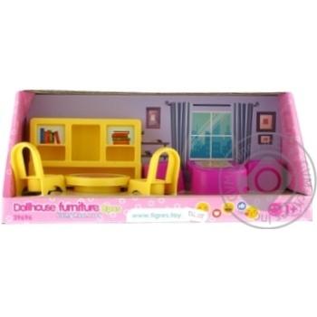 Набір меблів Tigres для ляльок/вітальня 8елем - купить, цены на СитиМаркет - фото 1