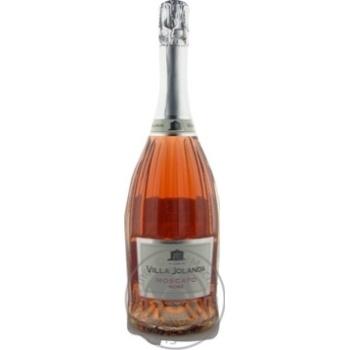 Вино ігристе Villa Jolanda Moscato Rose Dolce  6.5% 0,75л - купити, ціни на CітіМаркет - фото 1