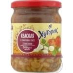 Vegetables kidney bean Khutorok in tomato sauce 500g