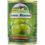olive Dolina jelaniy green with bone 260g can