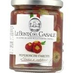 Le Bonta'del Casale Pepper with Tuna and Capers 280g