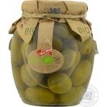 olive Diva oliva green canned 370ml glass jar