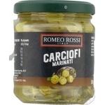 Артишоки Romeo Rossi маринованные в масле 180г