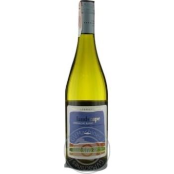 Вино The Capeography Co Landscape Гренаш Блан белое сухое 14,5% 0,75л - купить, цены на Метро - фото 1
