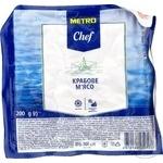 Крабове м'ясо Metro Chef Соковитий краб імітація пастеризоване заморожене 200г