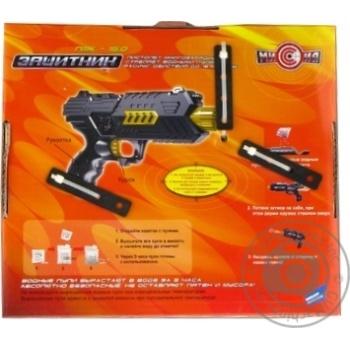 Пістолет іграшковий Захисник П3К-15 MISSION-TARGET M02 + - купить, цены на Novus - фото 2