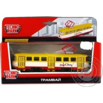 Techno Park Odessa Toy City Tram Model