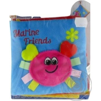 Іграшка м'яка Canpol Babies Кольоровий океан М'яка книжечка - купити, ціни на МегаМаркет - фото 1