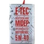 E-Tec Engine Oil Evo 5W-40 4l