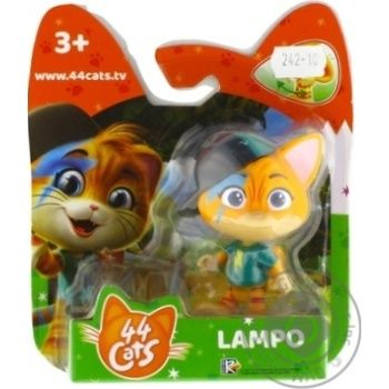 44 Cats Lampo Figurine - buy, prices for MegaMarket - image 1