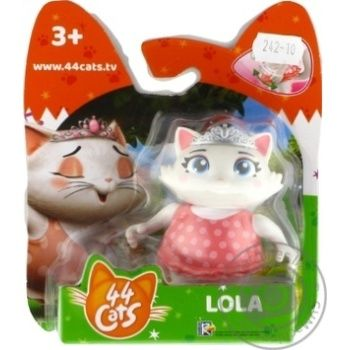 44 Cats Lola Figurine - buy, prices for MegaMarket - image 1