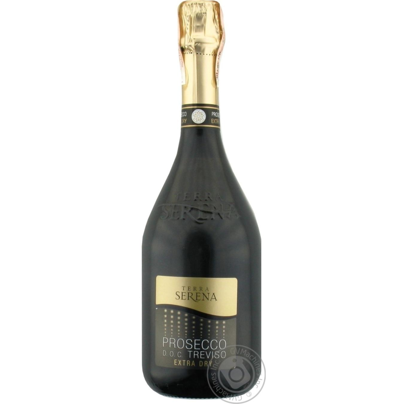 Купить 499676, Вино игристое Terra Serena Prosecco Spumante белое сухое 11% 0, 75л