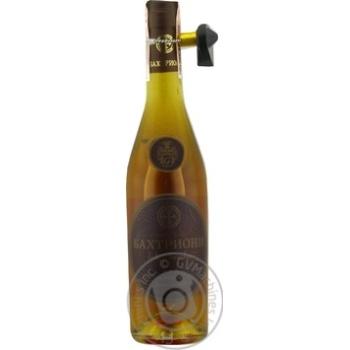 Bakhtrioni Cognac  3 stars 40% 0.5l