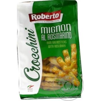Bread rod Roberto Crocchini bread with rozmarinom salt 150g Italy