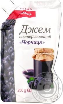 Джем Marka Promo Чорниця 250г - купити, ціни на Novus - фото 3