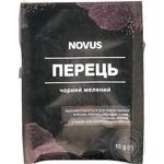 Перец черный молотый Novus 20г