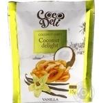 Чипсы кокосовые Cocodeli сладкие с ванилью 15г